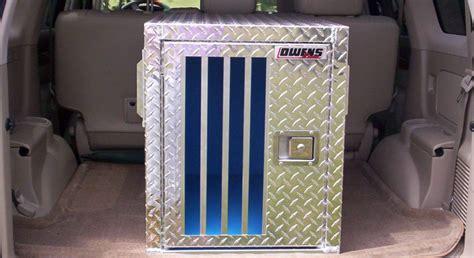 owens hunter series single compartment dog box wo storage