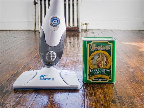 steam mop olive oil on hard wood floor polish hardwood