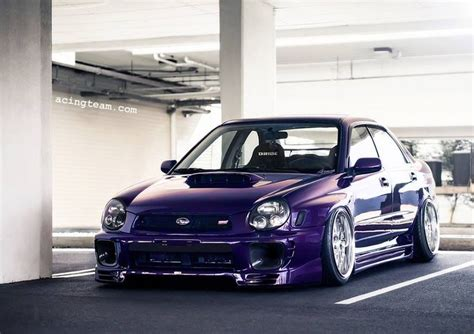 purple subaru wagon bugeye wrx wallpaper wallpapersafari