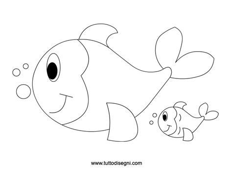 pesci da colorare per bambini scuola infanzia pesciolini da colorare tuttodisegni