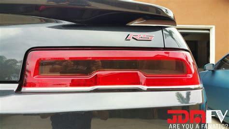 chevy camaro tail light covers 14 15 chevy camaro smoked tail light overlays tint vinyl