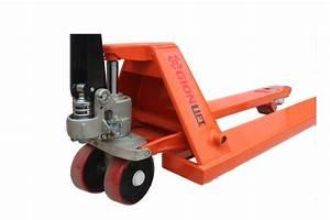 Narrow Manual Pallet Jack 5500 Lbs Capacity 48 U0026quot L  U00d7 21 U0026quot W