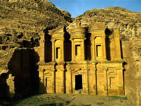 Petra Jordan Archaeology And History National Geographic