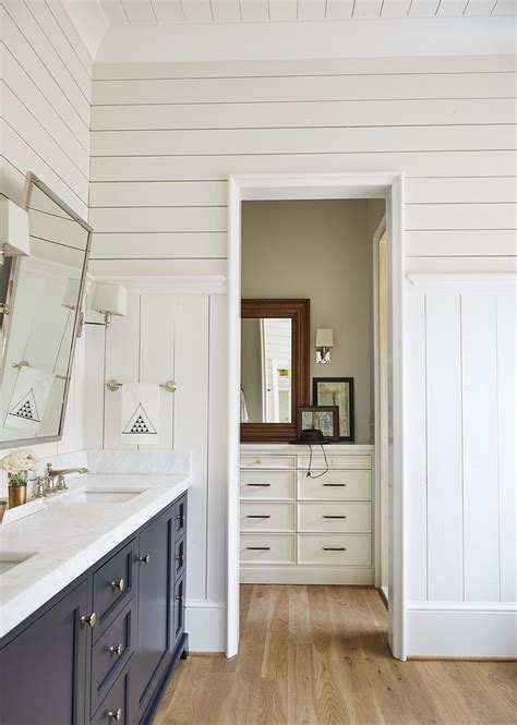 White Painted Shiplap by Shiplap Walls Paint Color Benjamin Pm 20 China