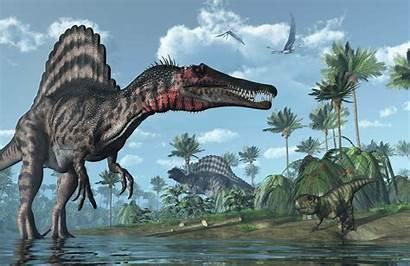 Dinosaur Dinosaurs Spinosaurus Prehistoric Creatures Muralswallpaper Land