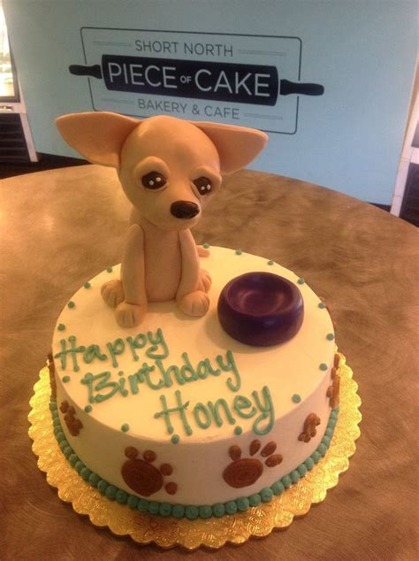 fondant chihuahua cake topper google search cakes
