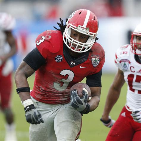 gator bowl  todd gurley   proves hes nation