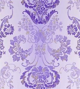 tapete lila With markise balkon mit tapeten designers guild