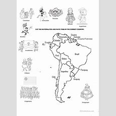 Nationalities Of South America Worksheet  Free Esl Printable Worksheets Made By Teachers