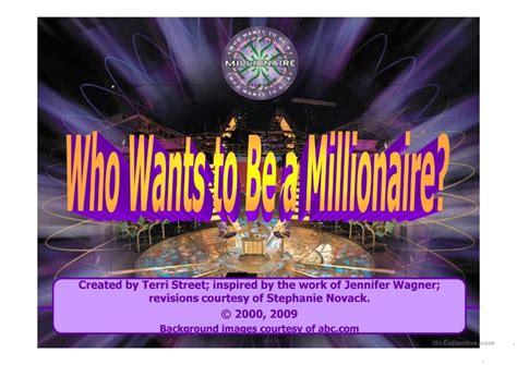 millionaire powerpoint game template