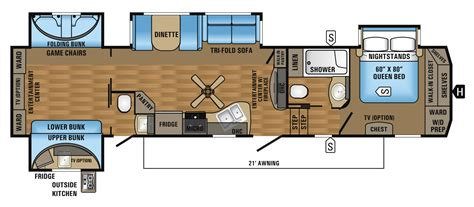Jayco 5th Wheel Floor Plans 2018 by 2017 Eagle Fifth Wheel Floorplans Prices Jayco Inc