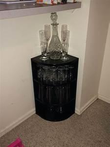 DIY Liquor Cabinet Powder Babes