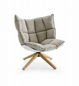 Petit Fauteuil Confortable : b b italia husk fauteuil matser wageningen ~ Teatrodelosmanantiales.com Idées de Décoration