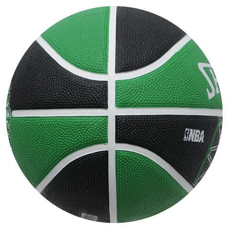 team boston celtics ballon basket spalding vert pas cher