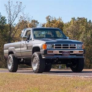 1986 Toyota Deluxe 4x4 Pickup  2 4l I4 8v Manual 4wd