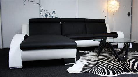 canapé d angle blanc et noir photos canapé d 39 angle design noir et blanc