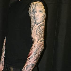 25 Groovy Tattoo Sleeve Ideas For Men | CreativeFan