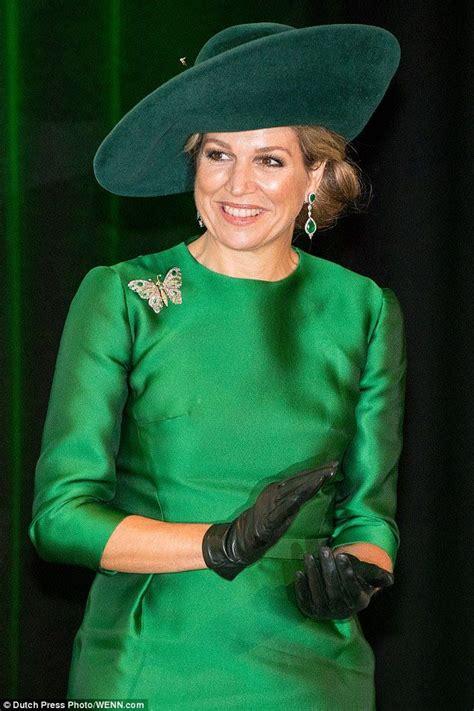 royalty queen maxima  netherlands