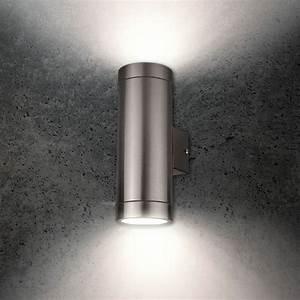 Wandleuchte Up Down : grafner aussenlampe wandlampe up down effekt strahler wandleuchte aussenleuchte ebay ~ Orissabook.com Haus und Dekorationen