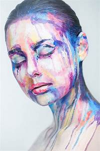 2D Portraits Painted Onto Human Faces «TwistedSifter