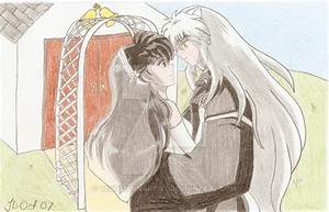 Inuyasha and Kagome married by tegd33fanartist on DeviantArt