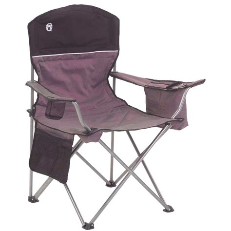coleman oversized chair with cooler coleman oversized chair with cooler black gray
