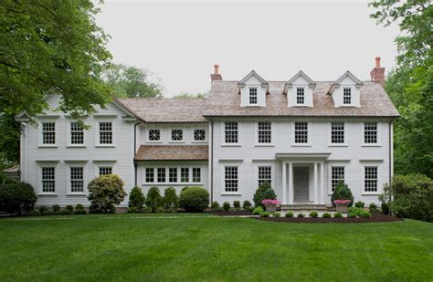 colonial whole home update traditional exterior