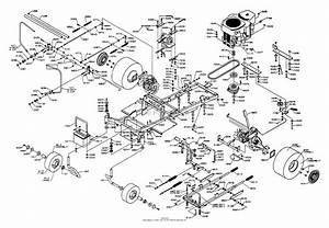 Dixon Ztr 5023  2001  Parts Diagram For Chassis