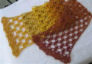 Free Crochet Lace Yarn Scarf Patterns