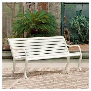 awesome banc de jardin aluminium images ridgewayngcom With banc de jardin design