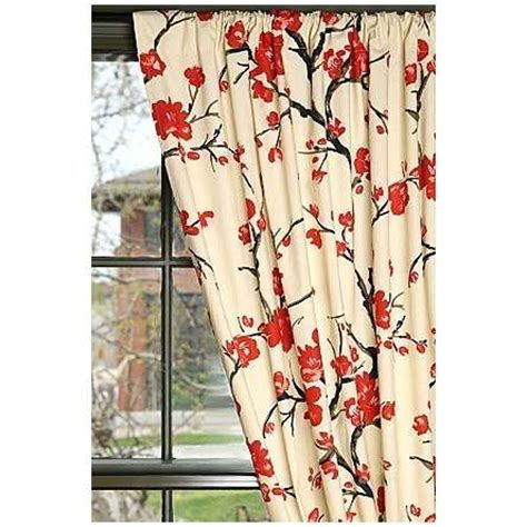 Cherry Blossom Curtain Panels by The World S Catalog Of Ideas