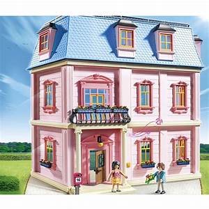 maison traditionnelle playmobil dollhouse 5303 la grande With marvelous dessin de belle maison 1 de maison prix