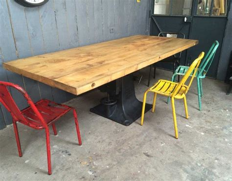 meuble cuisine le bon coin table avec pied central mundu fr