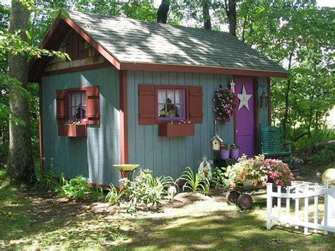 hometalk  fairy tale style shed
