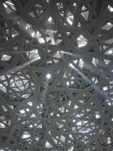 jean nouvel louvre abu dhabi  museum   sea