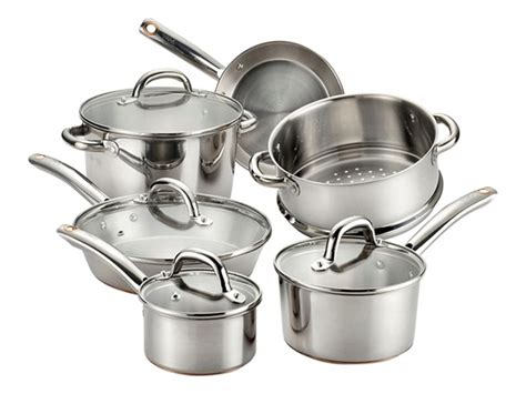 fal ultimate stainless  pc cookware