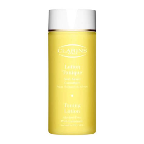 clarins toning lotion w chamomile for or normal skin reviews photos ingredients makeupalley