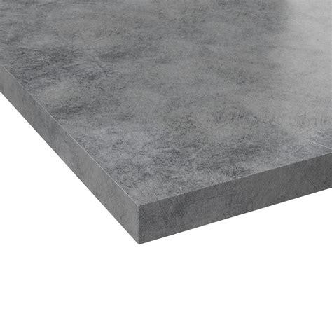 plan cuisine plan de travail on cuisine concrete counter