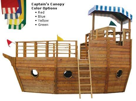 Backyard Pirate Ship Plans by Playhouse Swing Set Plans Youngster S Yacht Backyard
