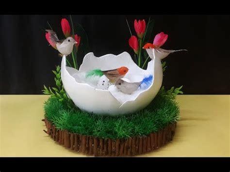 birds nest craft  newspaper diy birds