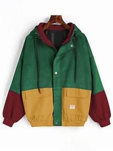 Green Jacket With Hood Designer Jackets