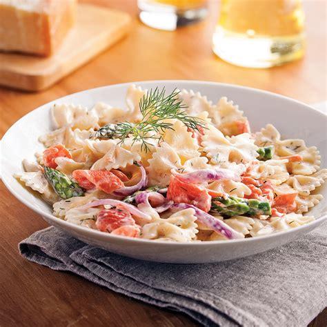 cuisine fut saumon farfalles au saumon fumé et asperges recettes cuisine