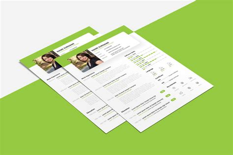 Beautiful Resume by Free Beautiful Resume Cv Design Template Psd Ppt File
