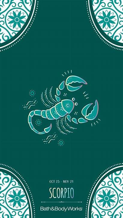 Scorpio Zodiac Iphone Wallpapers Signs Words Scorpion
