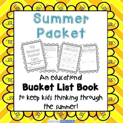 Summer Bucket List  A Summer Packet  Summer Review  Kid, Summer Bucket Lists And Buckets