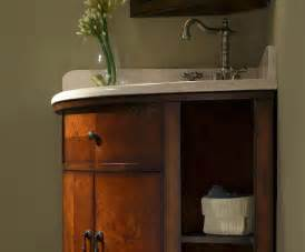 Home Depot Bathroom Sinks Undermount by Carlton 37 Inch Corner Bathroom Vanity Cherry Veneer Finish