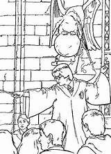 Potter Harry Coloring Chamber Secrets Pages Fun Zdroj Pinu sketch template