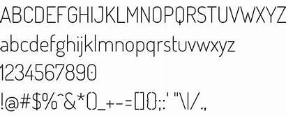 Dosis Font Extralight Allfont