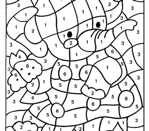 color by number coloring pages free ing therapy printable