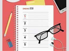 Agenda semanal de escritorio 2018, gratuita y lista para